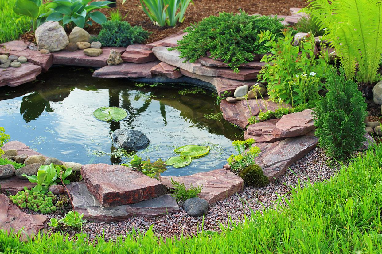 Elegant Ideen Für Kleinen Gartenteich Beste Wahl Klein